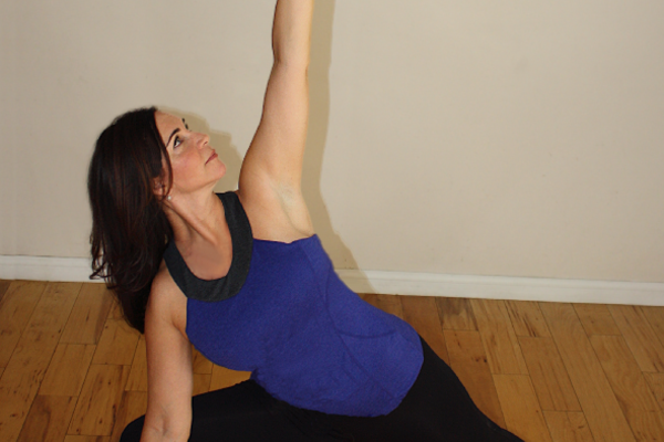 mind body awareness warrior pose soft